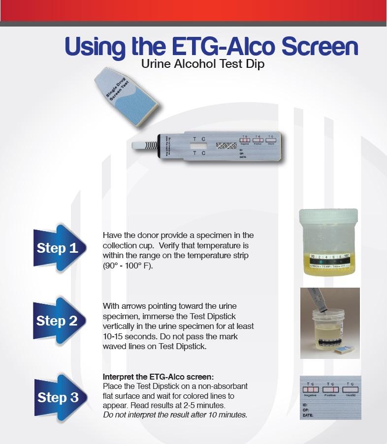 Buy ETG DrugConfirm Alcohol Urine Dip Test Card Online