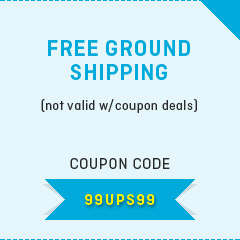 Free ground shipping on purchase of drug testing cups/cards