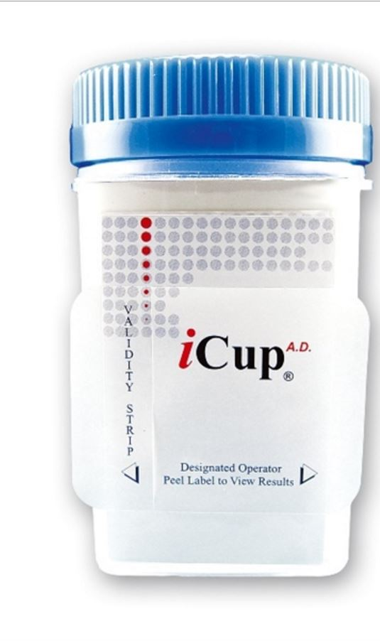 Buy Alere Icup Clia Waived 8 Panel Urine Drug Test Cup Online