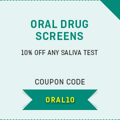 10% off - Oral drug screens